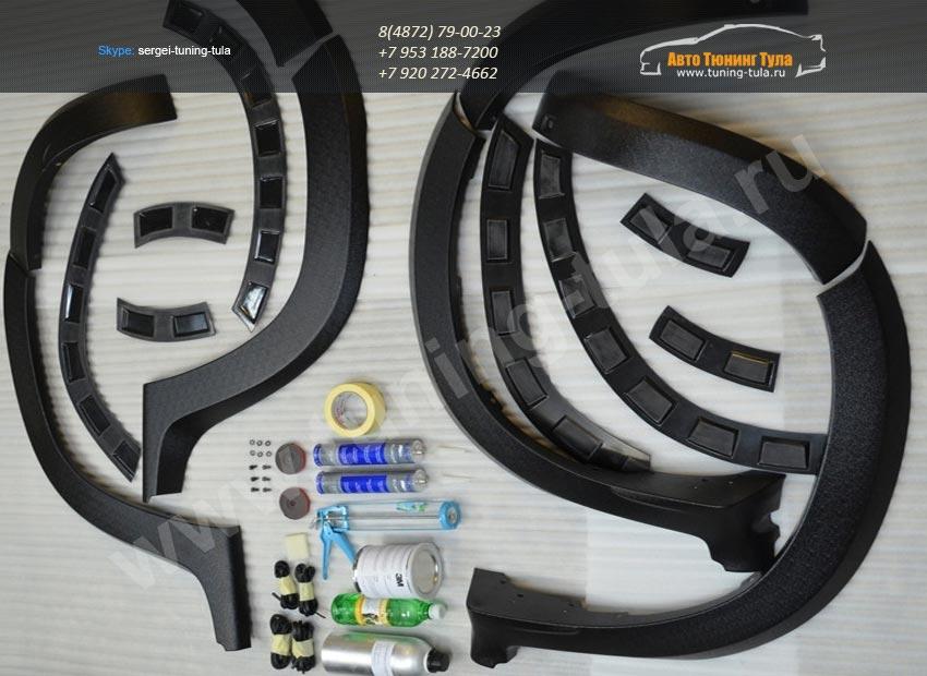 Расширители арок /КАРТ вариант 2 / Рено Дастер 2010-2014 / арт.708