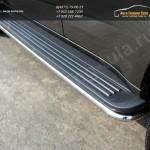 Защита штатных порогов d42.4 мм Chevrolet Trailblazer 2013+