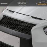 Бампер передний RS + сетки абс /Хенде Солярис/Solaris