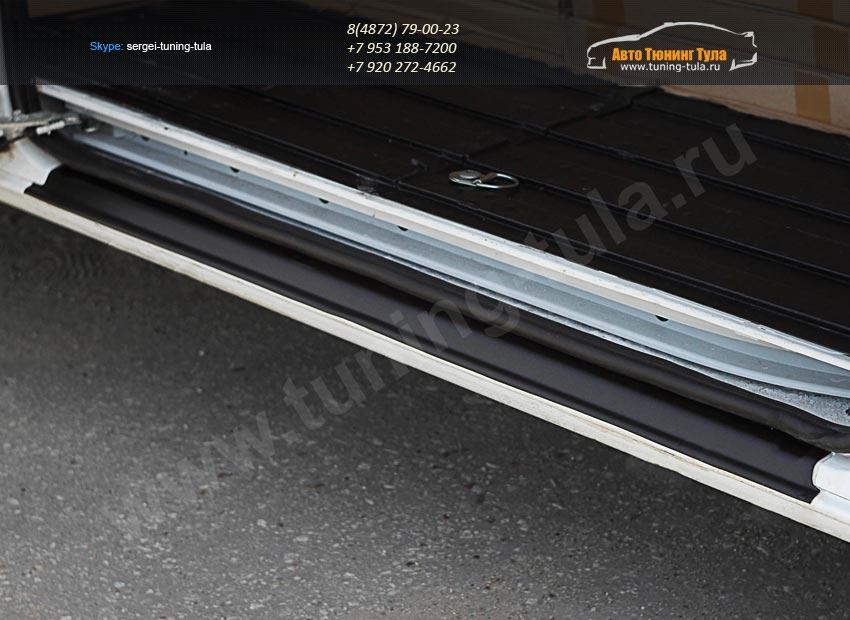 Накладка на порог боковой двери L3H2, L3H3 Peugeot Boxer/Citroen Jumper/Fiat Ducato/ арт.698-1