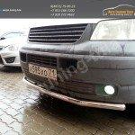 Защита передняя Line d60/ Нерж. сталь / VW T5 Transporter 2003-2009