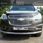 Защита передняя одинарная d76,1 мм Chevrolet Trailblazer 2013+