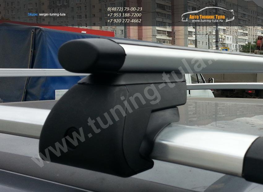 Багажник универсальный аэро профиль ЕвроДеталь на рейлинги/арт.340-8