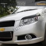 Накладки на фары/ реснички хэтчбек Chevrolet AVEO 2005-2011