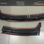 Накладка/Жабо M с отверстиями/ KART Рено Дастер/Renault Duster
