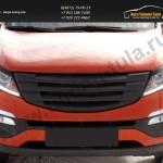 Накладки фар вар.2/ресницы/КИА Спортаж 3/Sportage с 2010