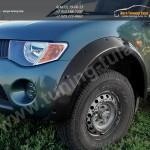 Расширители арок + 90 мм/АБС-пластик/ Митсубиси L 200 2007+