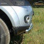 Защита бампера овальная d75x42 Mitsubishi Pajero Sport 2010+
