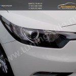 Накладки на фары / реснички / Kia CERATO 2013 +