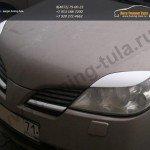 Накладки на фары / реснички / Nissan PRIMERA P12 2001-2005