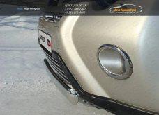 Защита переднего бампера 75х42 овальная Nissan X-trail Т31 2011+ /арт.645-2