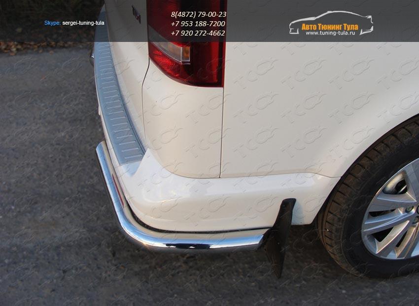 Защита задняя уголки d60.3 мм VW T5 Multivan 2013+ / арт.727-1