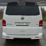Защита задняя уголки d60.3 мм VW T5 Multivan 2013+