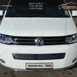 Защита переднего бампера d42.4мм VW T5 Multivan 2013+