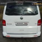 Защита задняя овальная 75x42  VW T5 Multivan 2013+