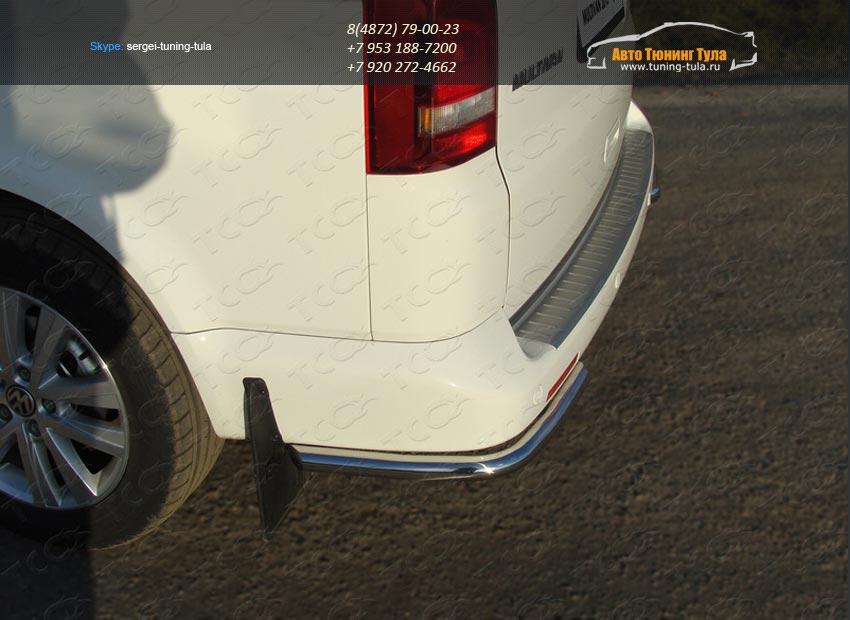 Защита задняя уголки d42.4 мм VW T5 Multivan 2013+ / арт.727
