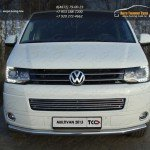 Защита переднего бампера d60.3мм  VW T5 Multivan 2013+