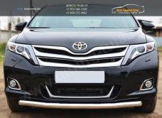 Защита переднего бампера d63 (секции) Toyota VENZA 2013+ / арт.728-8