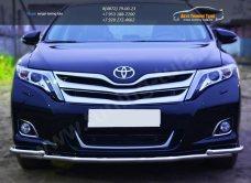 Защита переднего бампера d42 (секции) d42 (уголки) Toyota VENZA 2013+ / арт.728-9