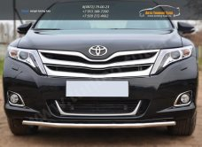 Защита переднего бампера d42 (секции) Toyota VENZA 2013+ / арт.728-10