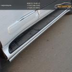 Защита, кант штатных порогов d42 мм Lexus GX460 2014+