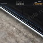 Пороги труба d63 (вариант 3) Toyota VENZA 2013+