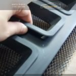Тюнинг решетка радиатора (Чероки стиль вариант 2 )Рено Дастер / Duster - 2010-2014, 2015,2016 / арт.590-4
