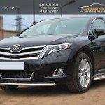Защита переднего бампера d42 (секции) Toyota VENZA 2013+