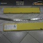 Накладка заднего бампера с загибом / от царапин Nissan QASHQAI+2 2008+