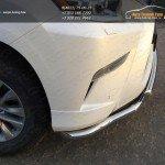 Защита переднего бампера двойная d60,3/50,8 мм Lexus GX460 2014+