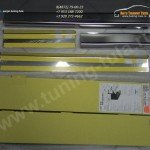 Накладки на пороги / нерж.сталь Alufrost / VW JETTA VI с 2010 +