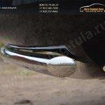 Защита заднего бампера d42 (дуга) Toyota VENZA 2013+