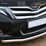 Защита переднего бампера d63 (секции) Toyota VENZA 2013+