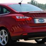 Накладка над номером на крышку багажника FORD Focus SD (2011>) (нерж.) OMSA/арт.235-1