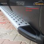 Пороги/подножки Olympos Nissan X-trail T31 2008+