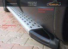 Пороги/подножки Olympos Nissan X-trail T31 2008+ / арт.611-1