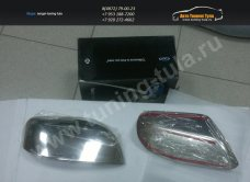 OMSA LINE 7013111-Накладки на зеркала нерж.сталь Toyota LC Prado 150/арт.617-1