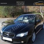Накладки фар/АБС-пластик/Реснички на Subaru Legacy 2003-2009