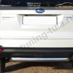 Защита заднего бампера d63 (дуга) Subaru Forester 2013+