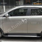Подножки/Пороги алюминиевые (Integral) Kia Sportage 3 2010+