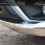 Защита переднего бампера d76 (секции) Subaru Forester 2013+