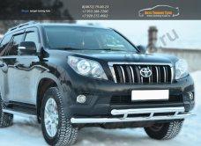 Защита переднего бампера d63(секции) d63(секции) Land Cruiser Prado 150 2009-2012 /арт.142-8