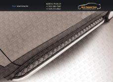 Пороги с листом d42 Suzuki SX-4 2014+/арт.300-6