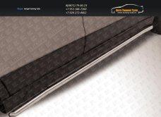 Пороги труба d42 Suzuki SX-4 2014+/арт.300-5