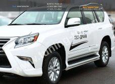 Защита штатных порогов d43 Lexus GX-460 2013+/арт.300-13