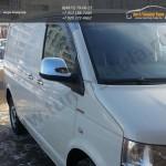Накладки на зеркала / Нерж. сталь Omsa / VW T5 Multivan 2010 +