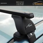 Багажник на крышу Nissan Juke /Lux с прямоугольными дугами