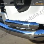 Защита переднего бампера d63 (секции)  d42 (уголки)  Mitsubishi Pajero Sport 2013+