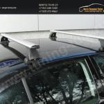 Багажник на крышу Nissan Juke /Lux с аэродинамическими дугами