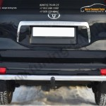 Защита заднего бампера d63 (секции) волна Land Cruiser Prado 150 2009-2012